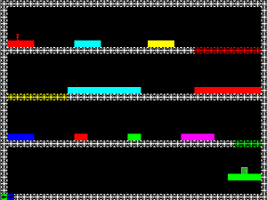 Screenshot from the Pygame version of RGB.