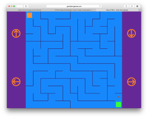 Last Breadcrumb Persists - HTML5 Maze