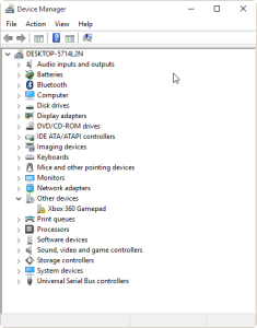 Dance Mat in Device Manager